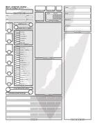 Character Sheet (Fillable Form)