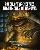 Ravenloft Archetypes I: Nightmares of Barovia