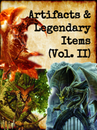 Artifacts and Legendary Items: Volume #2