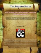 Book of Rules