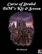 Curse of Strahd DM's Kit & Screen