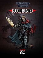 Blood Hunter Paper Miniature