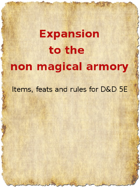 Expansion to the non magical armory