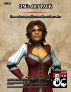 ART014 Female Lightfoot Halfling Rogue