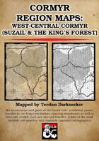 Cormyr Region Maps: West-Central Cormyr