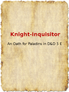 Knight-Inquisitor