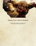 Blood Shaman: Barbarian Primal Path
