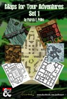 Maps for your Adventures Set 1