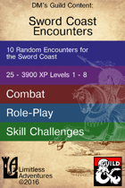 Ten Sword Coast Encounters