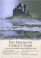 The Hound of Cabell's Tomb - A Basic Rules Adventure