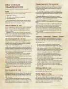 5e Rules Clarifications