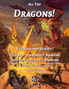 All the Dragons! The Dragons! Volumes 1 and 2 Bundle
