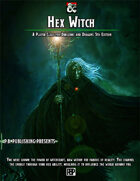 Hex Witch - 5E Player Class
