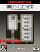 HULB 1-1 Map Pack: Digital maps for Hulburg Rebuilding!