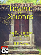 Cover of Temple of Xhodes