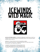 Wild Magic Surge Table - Icewinds