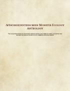/r/dndbehindthescreen Monster Ecology Anthology
