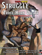 Struggle in Three Horn Valley (Chult) - Dino-Wars vol 1
