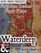 Waterdeep - Forgotten Realms Stock Maps