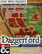 Daggerford - Forgotten Realms Stock Maps