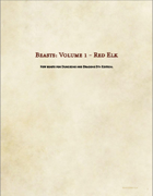 Beasts: Vol.1 - Red Elk