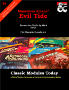 Classic Modules Today: Evil Tide (5e)