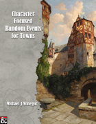Character Focused Random Events for Towns