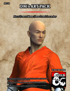 ART111 Male Human Monk (Shou Lung)
