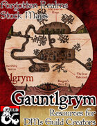 Gauntlgrym - Forgotten Realms Stock Maps