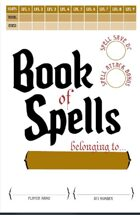 Make your own Spellbook