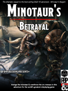 Minotaur's Betrayal - The Minotaur Trilogy: Part 2