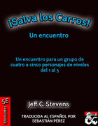¡SALVA LOS CARROS! (Spanish)