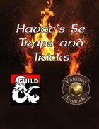 Havocs Traps and Tricks 5E