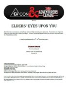 CCC-ODFC01-03 Elders' Eyes Upon You