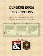 Dungeon Room Descriptions (FG)