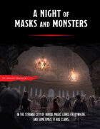 A Night of Masks and Monsters (A Requiem of Wings #1)