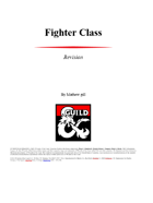 Fifth Edition Fighter Revised