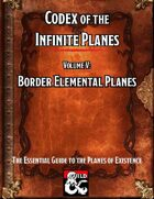 Codex of the Infinite Planes Vol 05 Border Elemental Planes