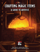 Crafting Magic Items: A Guide to Artifice