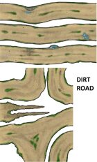 2D terrain, maps and props - Dirt Road