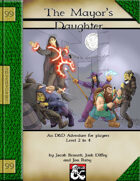 The Mayor's Daughter - Addon Adventure - 99 Cent Adventures