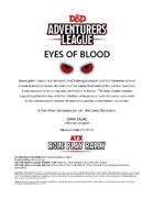 CCC-RPR-01 Eyes of Blood