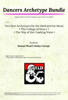 [5e] Dancers Archetype Bundle - Dragon Ink