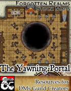 The Yawning Portal - Forgotten Realms Stock Art