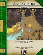 99 Cent Adventure - Goblins in the Temple - Addon Adventure