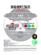 CCC-TRI-19 Dead Men's Tales (Part One of the Dead Men Series)
