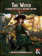 The Witch Character Class