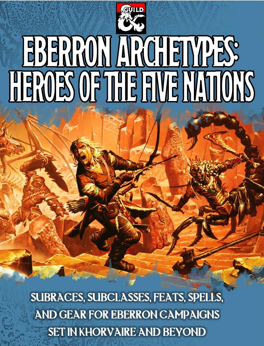 Cover of Eberron Archetypes