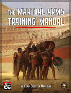 Martial Arms Training Manual (Fantasy Grounds)