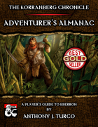 The Korranberg Chronicle: Adventurer's Almanac